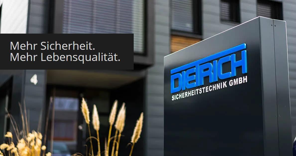 Gebäudeansicht von Dietrich Sicherheitstechnik